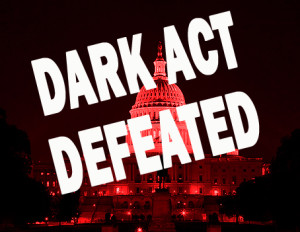 GMO Labeling and the Right to Know / Dark Act Defeated / S.B. 2609