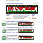 Google Yahoo Bing Scam Internet Users with Paid Ads