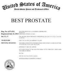Best Prostate Trademark